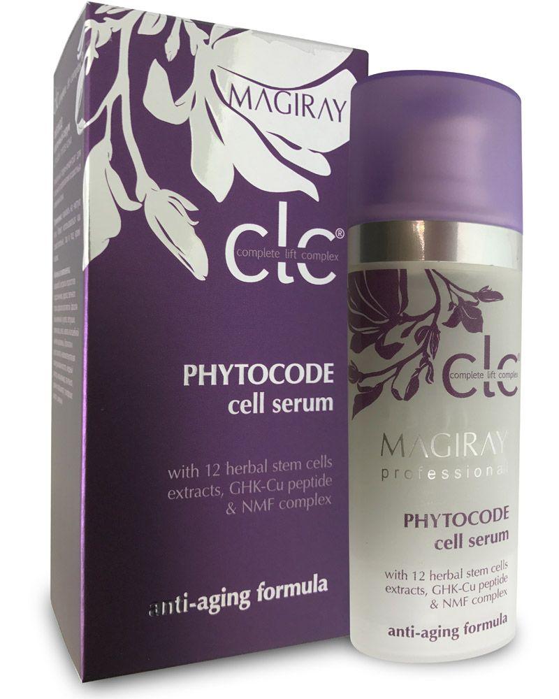 Serum til moden hud med hyaluronsyre og stamceller fra 12 forskellige urter